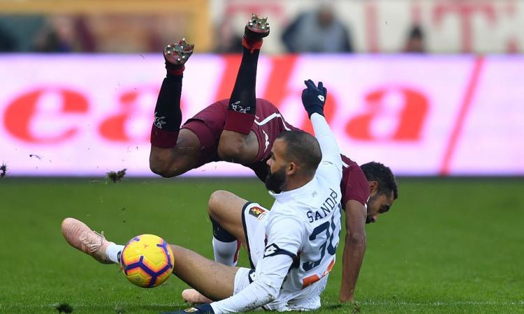 Serie A, la MOVIOLA: annullato gol al Sassuolo, rossi Romulo e Barella