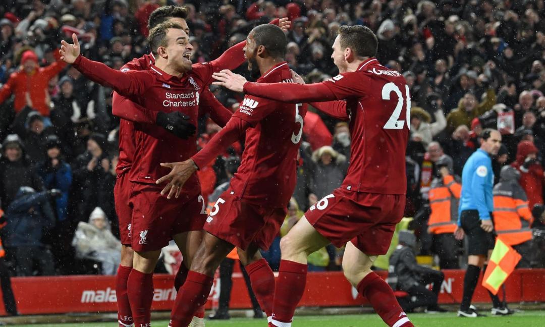 Liverpool, solo due partite per il titolo d'inverno