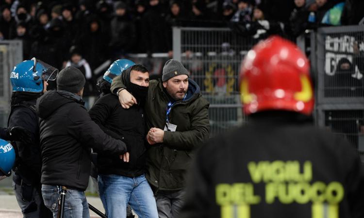 Inter-Eintracht: si temono scontri, intervengono atalantini e laziali
