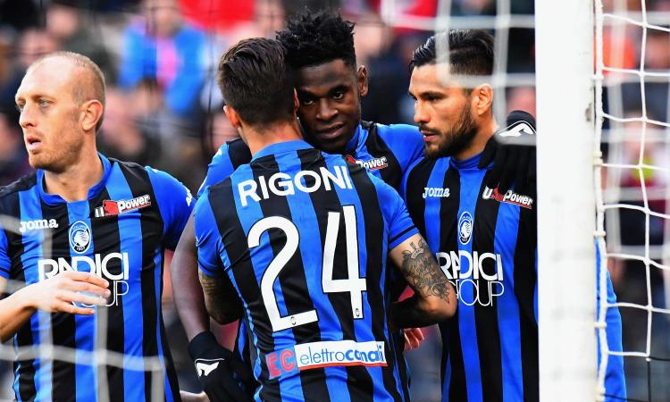 Udinese-Atalanta 1-3: il tabellino
