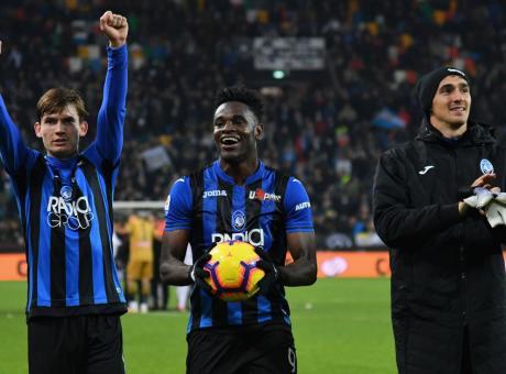 L'Atalanta in trasferta è meglio della Juve, tris Zapata all'Udinese da ex