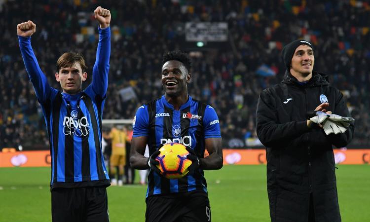 Zapata più utile di Icardi e Higuain: ora l'Atalanta è davvero da Champions