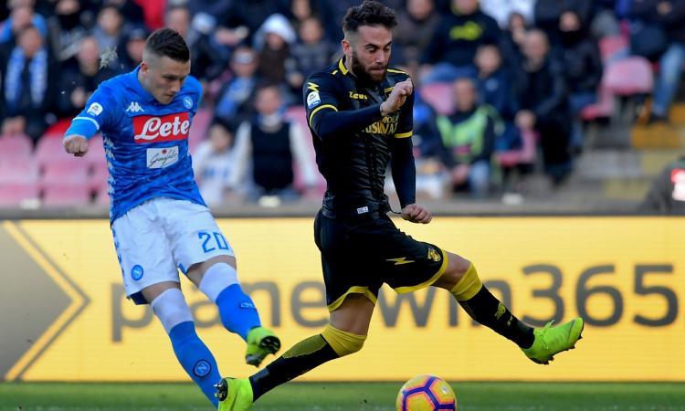 Napoli-Frosinone 4-0: il tabellino
