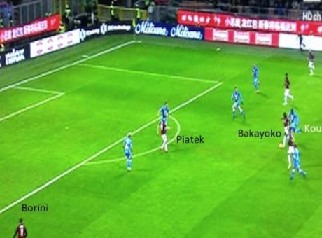 La rivincita di Bakayoko, ecco come Gattuso lo ha trasformato in 'atipico'