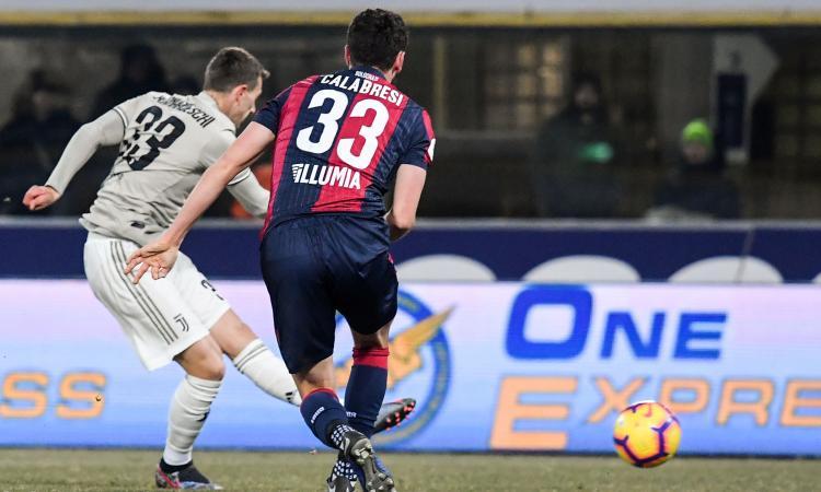 Bologna-Juventus, le pagelle di CM: Bernardeschi il migliore, De Sciglio flop