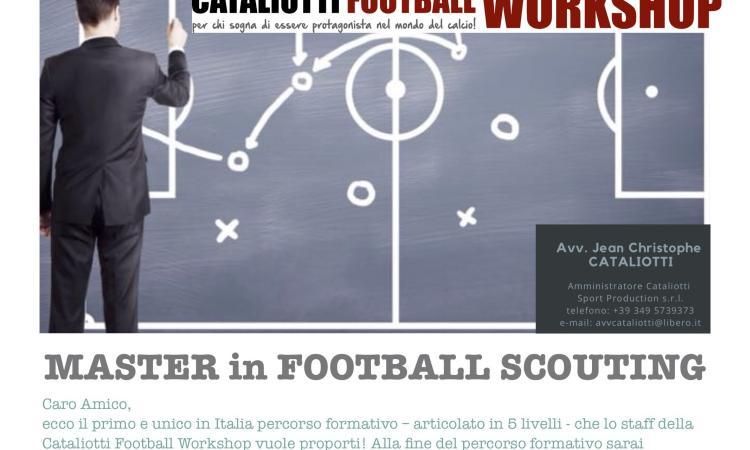 Master in Football Scouting (I livello col Parma calcio): 2-3 marzo a Reggio Emilia!