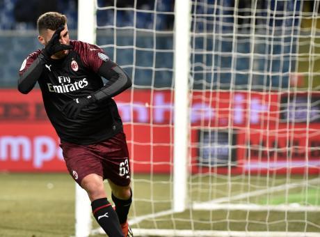 Coppa Italia: il Milan vince 2-0 con la Sampdoria. Ai quarti Napoli o Sassuolo