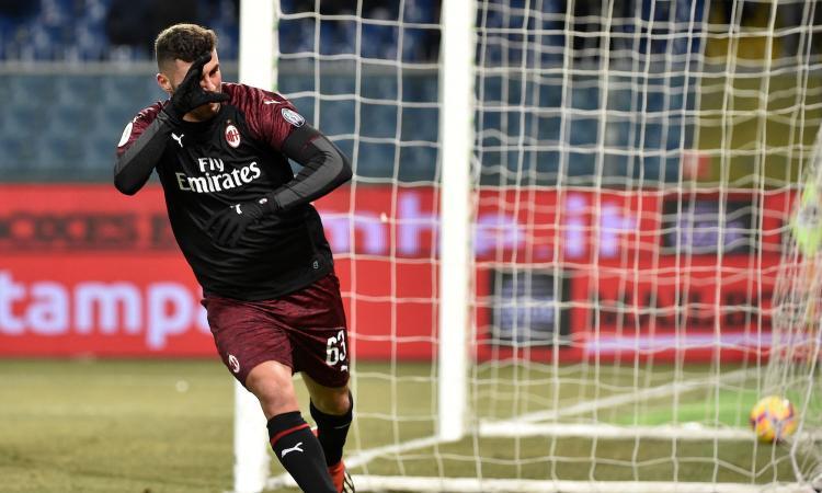Milan, 'zona Cutrone': il 20% dei suoi gol è arrivato dopo il 90esimo