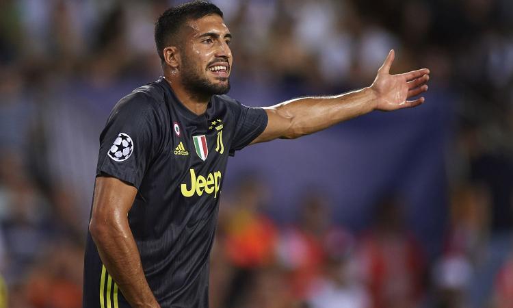 Juve, Emre Can sarà titolare: attesa per il 'colpo' del 2019