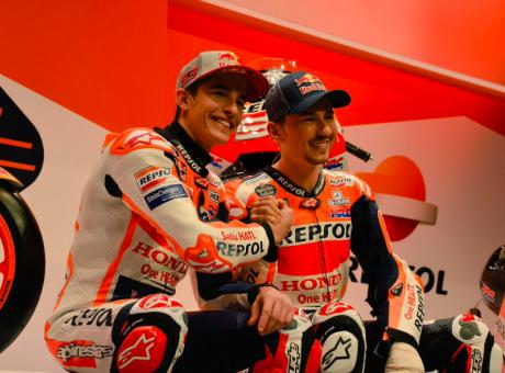 Ecco la nuova Honda, Marquez: 'Oh, che noia!' FOTOGALLERY