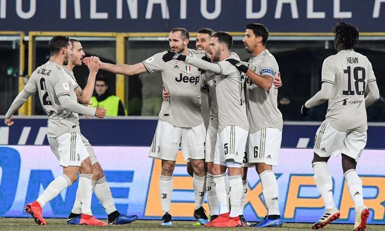 Coppa Italia: Juve, 2-0 al Bologna e quarti di finale raggiunti