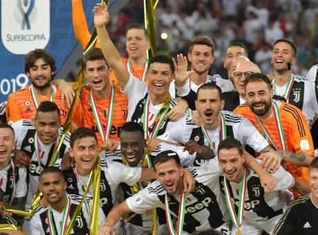 Juve, la Supercoppa approda al Museum FOTO