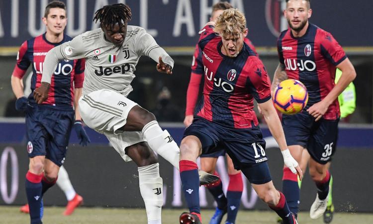 Bologna-Juventus 0-2: il tabellino