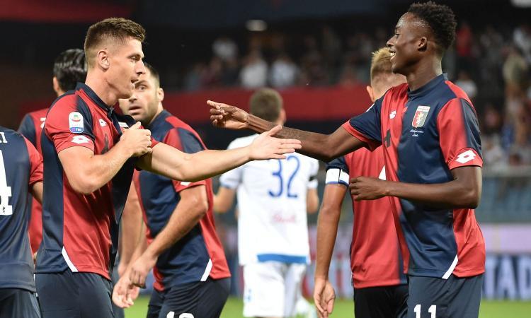 Genoa, quattro ex per l'attacco