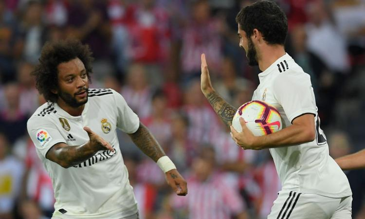 Juve a Madrid, il mercato si infiamma: da Isco a Marcelo e James, il punto