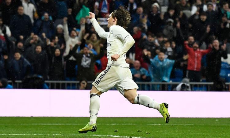 Inter, senti Modric: 'Felice al Real, voglio restare anche a fine contratto'