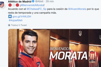 fbd1652118a Official: Morata joins Atletico Madrid from Chelsea | English News ...