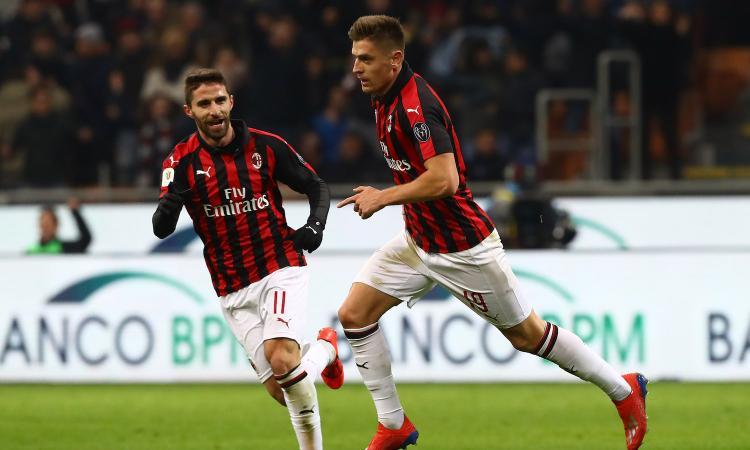 Milan: domenica in campo con la nuova maglia