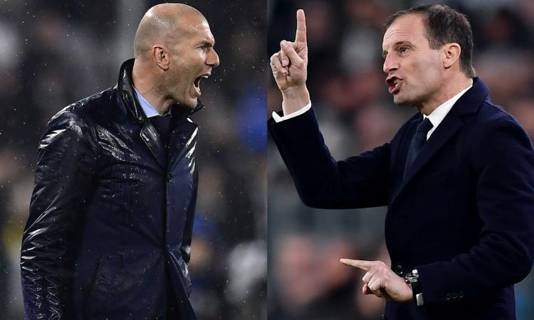 Juve, Allegri contro l'Atletico si gioca la panchina: Agnelli pensa già a Zidane
