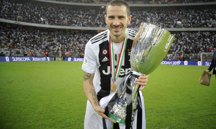 Juve, Bonucci: 'Vincere è sempre bello! Chiellini tra i migliori al mondo'