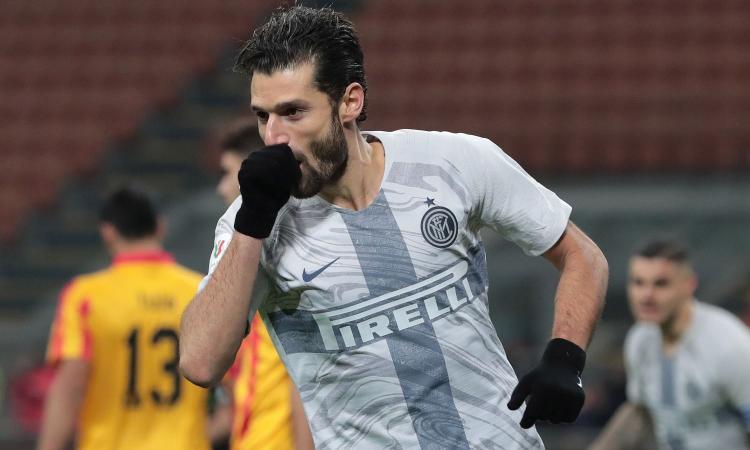 Ag. Candreva: 'Resta all'Inter'