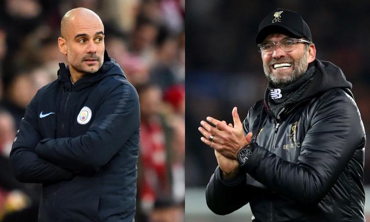 Liverpool contro Manchester City: nelle quote la Premier a Klopp e la Champions a Guardiola