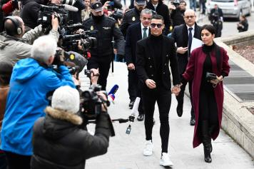 cristiano ronaldo, ingresso, tribunale, madrid, georgina, 2018/19