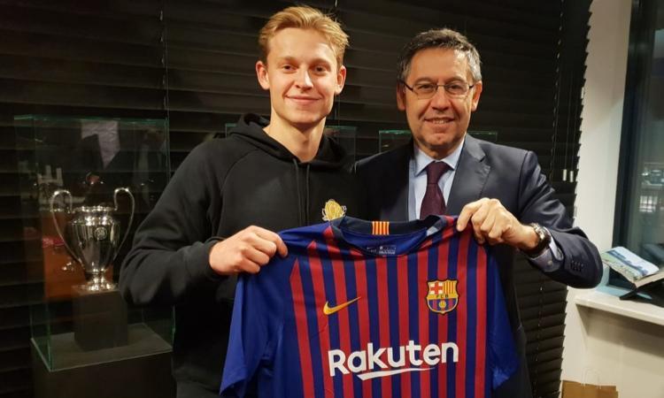 UFFICIALE: de Jong è del Barcellona