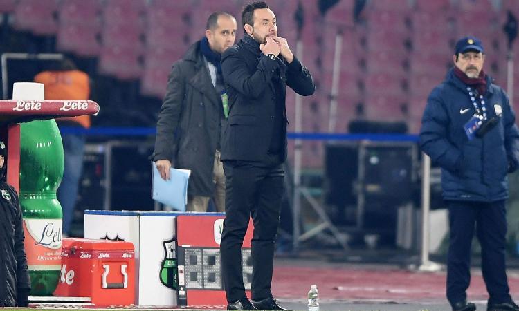 Sassuolo, De Zerbi: 'Contento di quello che abbiamo fato. Sul gol annullato...' VIDEO