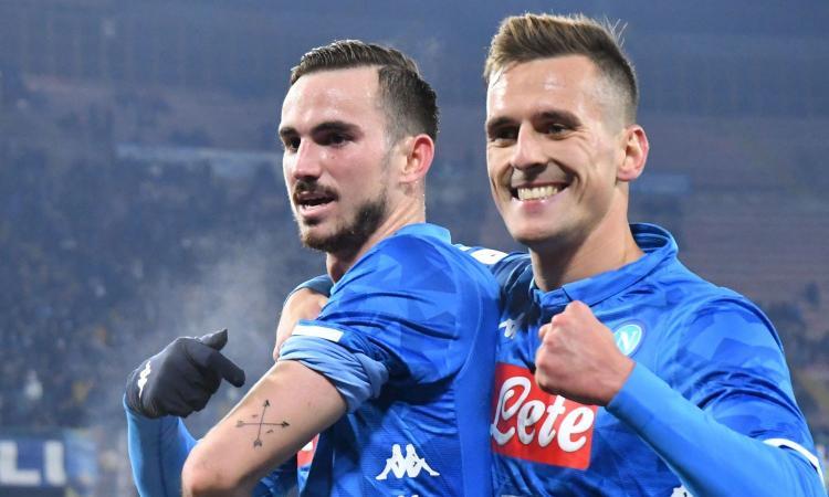 2-0 al Sassuolo, il Napoli vola ai quarti di Coppa Italia: Ancelotti sfida il Milan