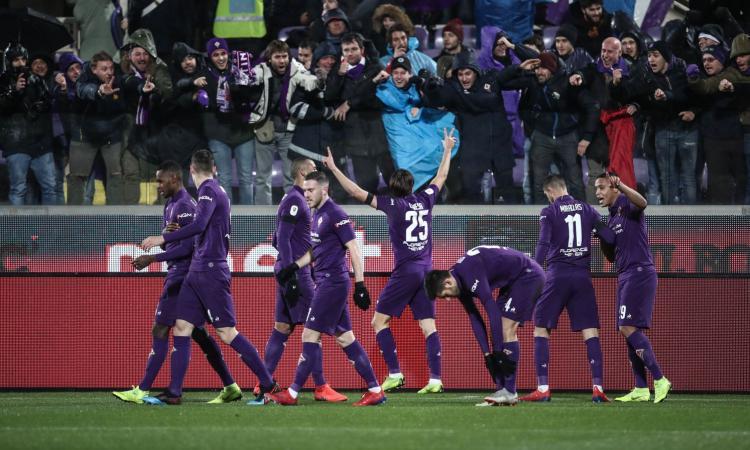 La Fiorentina umilia la Roma: 7-1 con Chiesa da sogno, Di Francesco a rischio