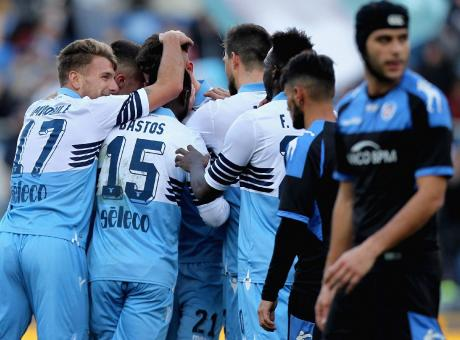 Coppa Italia: la Lazio divora il Novara 4-1. Ai quarti aspetta Inter o Benevento