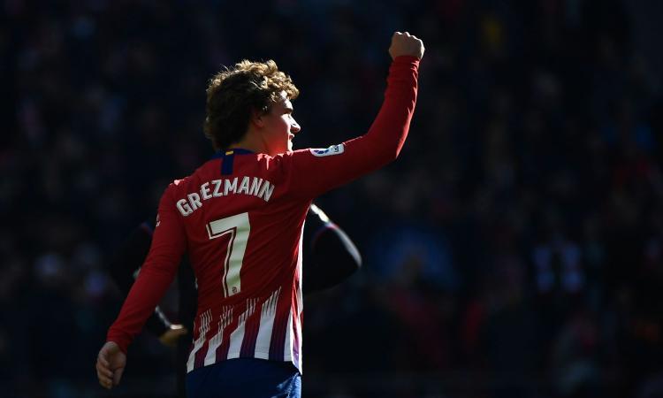 Atletico Madrid, Joao Felix prende la 7 di Griezmann