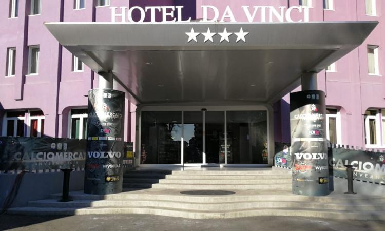 Risultati immagini per HOTEL DA VINCI MILANO CALCIOMERCATO
