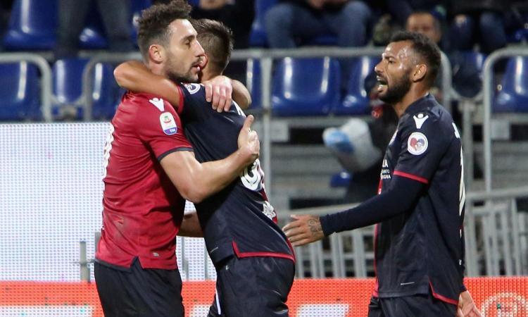 Serie A: pari in Fiorentina-Samp, forza 5 Atalanta. Il Cagliari riprende l'Empoli