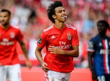 Benfica, un club inglese favorito su Joao Felix