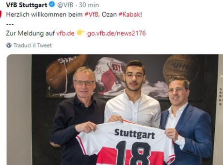 Niente Inter e Roma, UFFICIALE: Kabak va allo Stoccarda