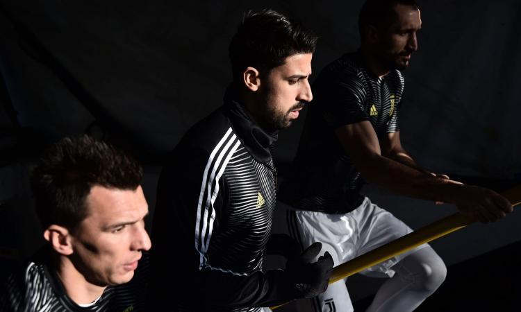 Juve, Khedira non è più intoccabile: con Ramsey l'addio è possibile, il punto