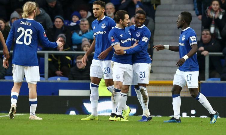Premier League: l'Everton ne fa 2 al Bournemouth