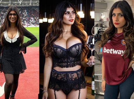 Mia Khalifa, tifa West Ham. Il preferito dell'ex pornostar? Un ex-Lazio FOTO