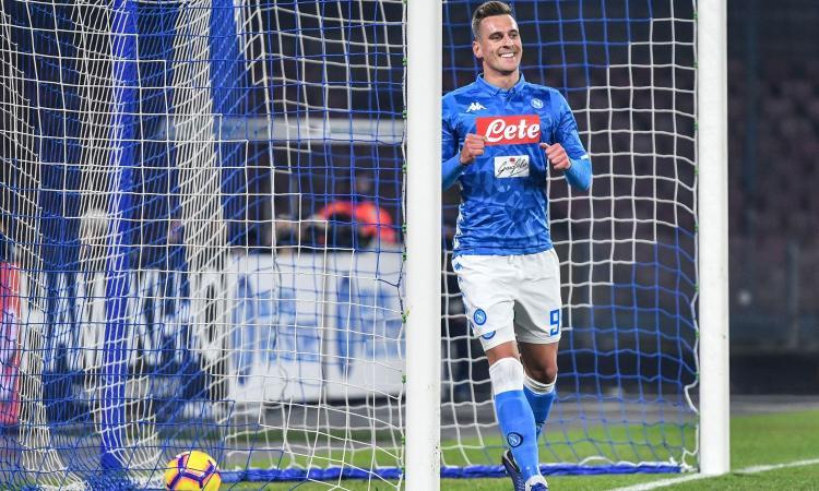 Milik: 'Napoli da triplete, sono felice di giocare di più' VIDEO