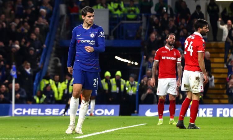 Il Chelsea fa spazio a Higuain: Morata a un passo dall'Atletico Madrid