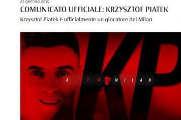 piatek, milan, ufficiale, sito, 2018/19