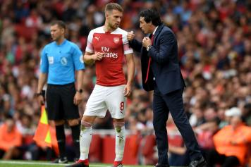 ramsey, arsenal, parla, emery, 2018/19