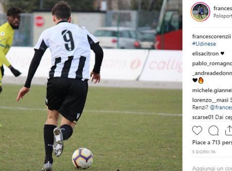 Udinese, Nicola lancia Renzi jr: primo gol per il figlio dell'ex Premier