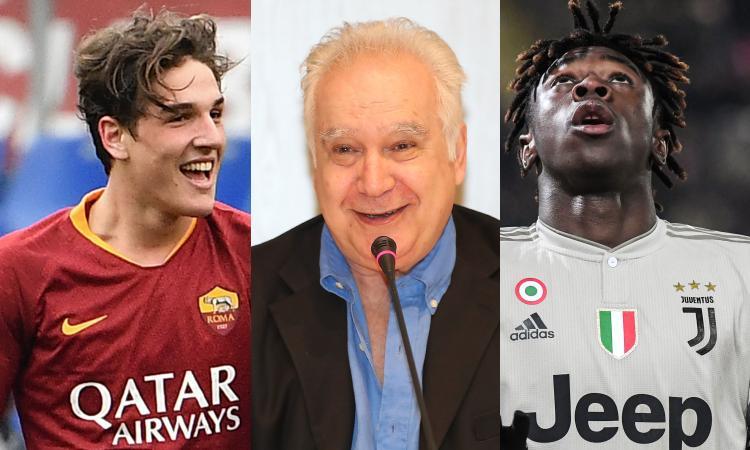 Sconcerti a CM: 'Zaniolo potrà lasciare la Roma, la Juve fa bene a tenere Kean'
