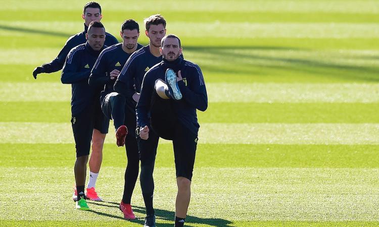 Juve, il riassunto dell'allenamento verso il Genoa