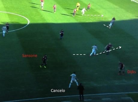 Cancelo 'alla Cuadrado' stecca: non ha capito come si gioca nella Juventus