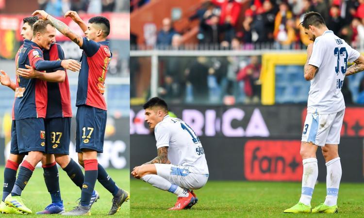 Lazio iellata, ma contro il Genoa di Criscito ha sbagliato anche Inzaghi