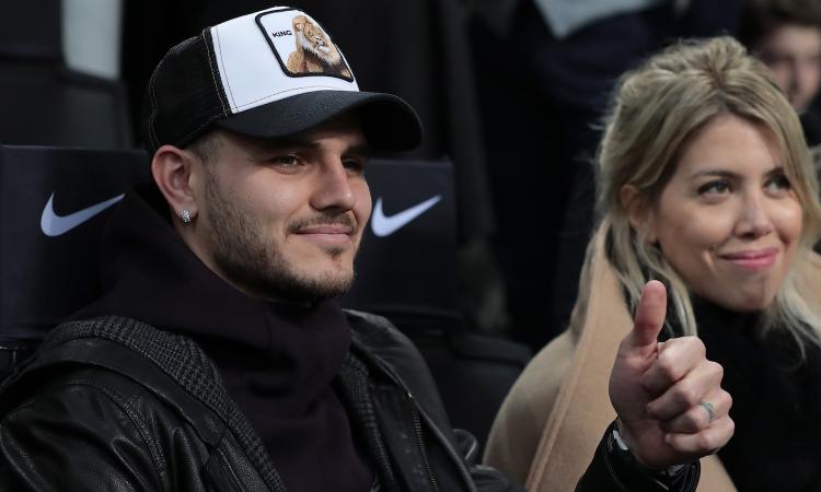 Icardi e Wanda, segnale all'Inter: 'L'Italia è casa nostra'. Può cambiare i piani di Marotta